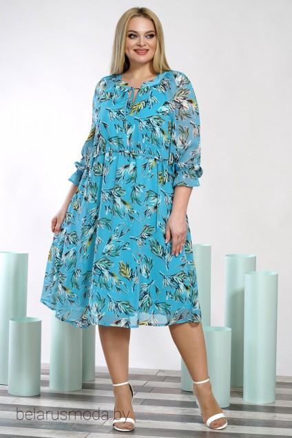 Платье ALANI, модель 1352 голубой