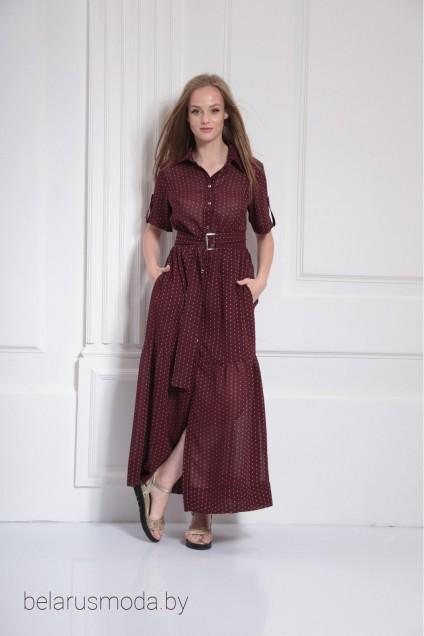 Платье 9480 вино Amori