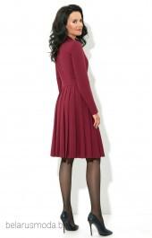 Платье 1615 бордо AYZE