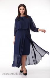 Платье 673 темно-синий Анастасия Мак