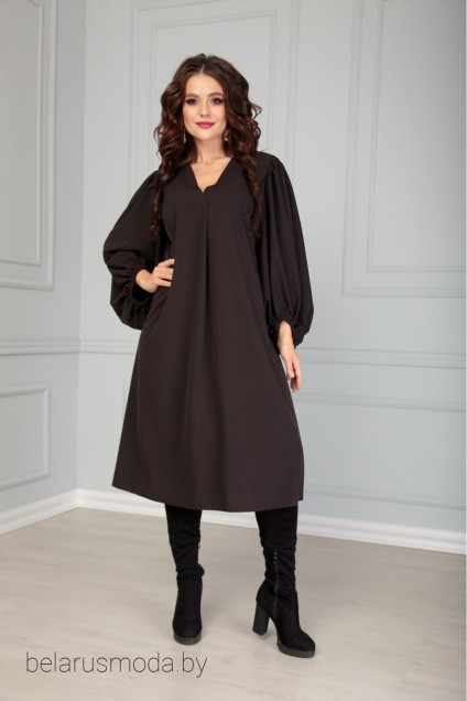 Платье 517 черный Anastasia