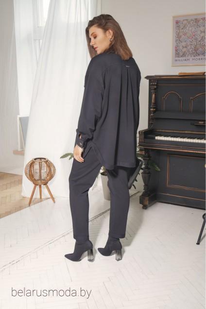Рубашка 4006 черный BegiModa