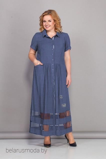 Платье 439 джинс  Bonna Image