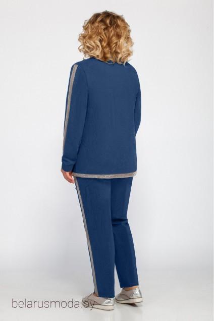 Спортивный костюм 455 синий Bonna Image