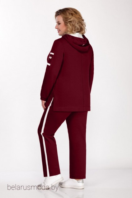 Спортивный костюм 525 бордо Bonna Image