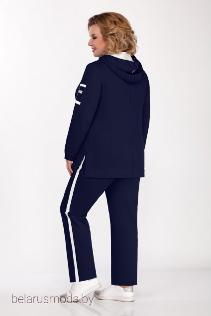 Спортивный костюм 525 темно-синий Bonna Image