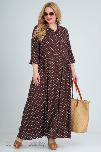 Платье 1939 шоколад Celentano