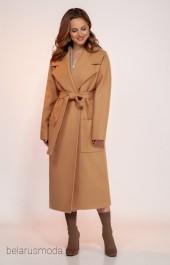 Пальто 1766песочный DilanaVIP