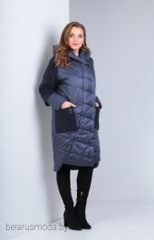 Пальто Diomant, модель 1482 индиго