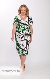 Платье Djerza, модель 1372 зеленый