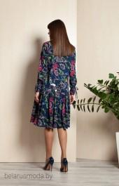Платье ELLETTO LIFE, модель 1718 синий