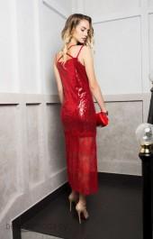 Платье ELLETTO LIFE, модель 1743 красный