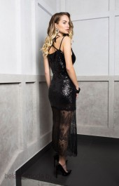 Платье ELLETTO LIFE, модель 1743 черный