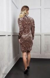 Платье ELLETTO LIFE, модель 1745 мультиколор