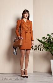 Платье ELLETTO LIFE, модель 1753 коричневый