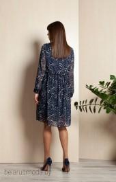 Платье ELLETTO LIFE, модель 1758 синий