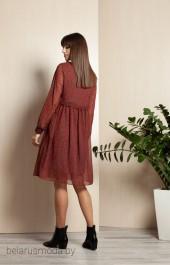 Платье ELLETTO LIFE, модель 1758 коричневый