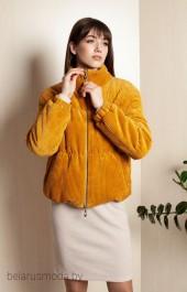 Куртка ELLETTO LIFE, модель 3394 горчица