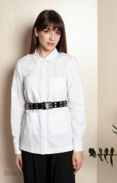 Рубашка ELLETTO LIFE, модель 3398 белый