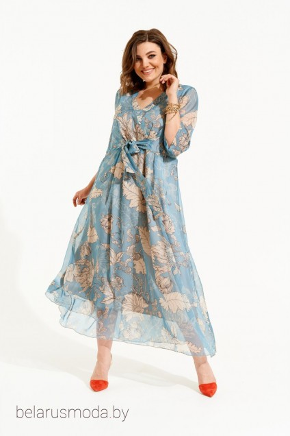 Платье Elletto, модель 1844 бирюза