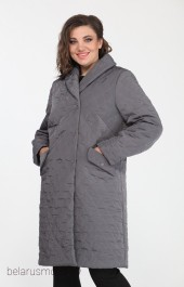 Пальто Elletto, модель 3437 серый
