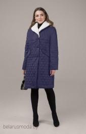 Пальто Elletto, модель 3437 синий