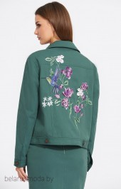 Куртка 2071 малахит EOLA