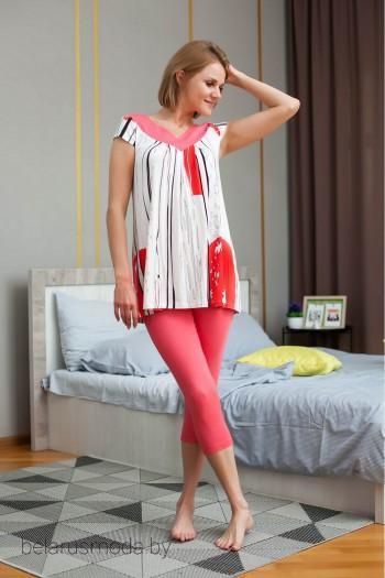 Комплект домашний брючный - Euro Moda