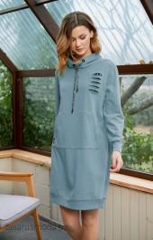 Платье FantaziaMod, модель 3602 голубой