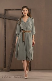 Платье DEESSE, модель 1007 зелень