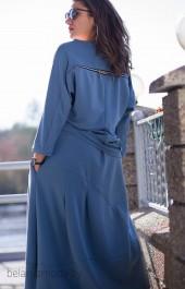 Комплект юбочный GRATTO, модель 2007 голубой