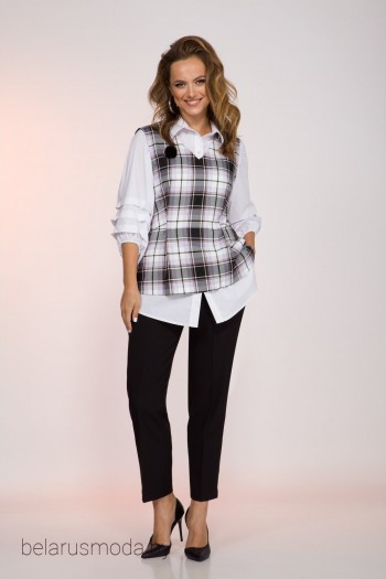 Блузка+жилет - INPOINT