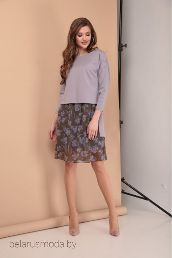 Комплект с платьем - Карина Делюкс