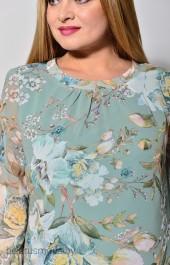 Платье Карина Делюкс, модель В-266-1 мятный