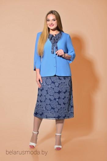 Костюм с платьем - Карина Делюкс