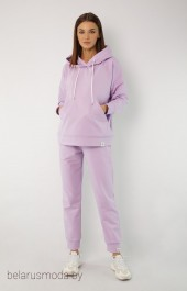 Спортивный костюм 4015-4040 светло-лиловый Kivviwear
