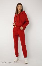Брюки 4040 красный Kivviwear