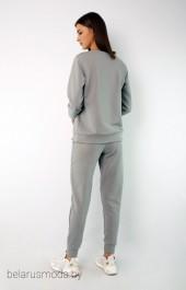 Спортивный костюм 4048-4051 серый Kivviwear