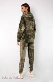 Спортивный костюм 4049-4047 пятнистый хаки Kivviwear
