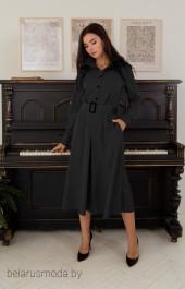 Платье 1384 черный LADIS LINE