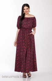 Платье LaKona, модель 1307 вишенки
