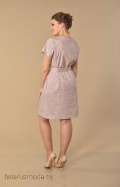 Платье 1819-1 розовые тона Lady Style Classic