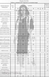Костюм с шортами 2756 черный + василёк Ladysecret
