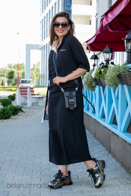 Платье 3683 черный Ladysecret
