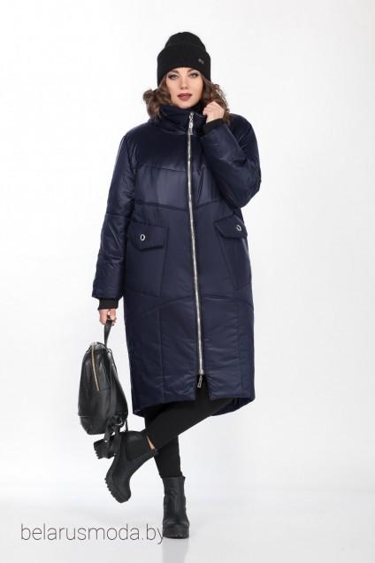 Пальто 8280 синий Ladysecret
