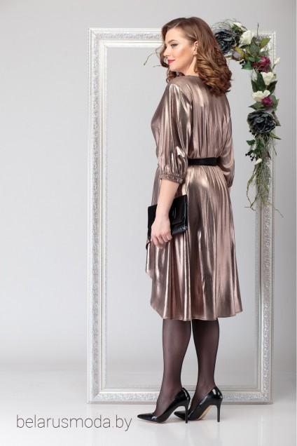 Платье 2029 золотой Michel Chic
