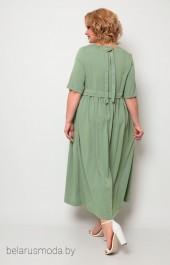 Платье 2062 оливка Michel Chic