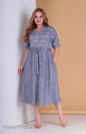 Платье Moda-Versal, модель 2189 голубой