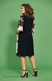*Платье Мублиз, модель 432 пудра