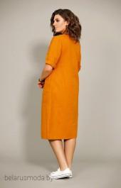 Платье 435 терракот Мублиз
